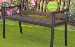 Pauls Steel Garden Benches