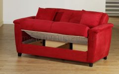 Red Sleeper Sofas