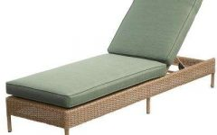 Armless Outdoor Chaise Lounge Chairs