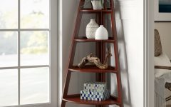 Pierview Corner Bookcases