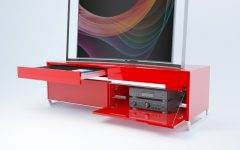 Red Modern Tv Stands