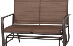 Rocking Love Seats Glider Swing Benches With Sturdy Frame