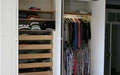Tall Double Rail Wardrobes
