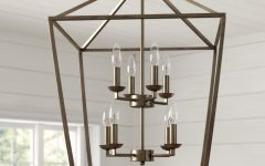 Carmen 8-light Lantern Tiered Pendants