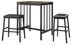 Kernville 3 Piece Counter Height Dining Sets