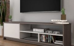 Simple Open Storage Shelf Corner Tv Stands