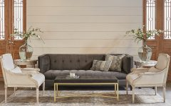 Magnolia Home Dapper Fog Sofa Chairs
