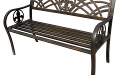 Michelle Metal Garden Benches