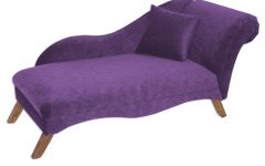 Purple Chaise Lounges