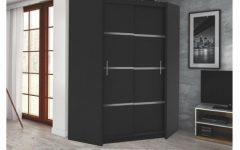 Black Corner Wardrobes