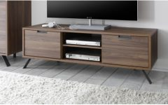 Walnut Tv Cabinets with Doors