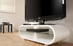 White Oval Tv Stands