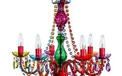 Multi Colored Gypsy Chandeliers