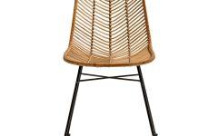 Natural Rattan Metal Chairs