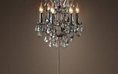 Crystal Table Chandeliers