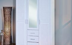 Double Wardrobes With Mirror