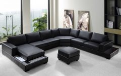 Modern U Shaped Sectional Sofas
