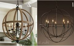 Orb Chandeliers