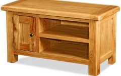 Small Oak Tv Cabinets