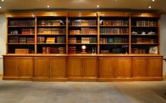 Oak Library Bookcases