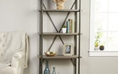 Oakside Etagere Bookcases