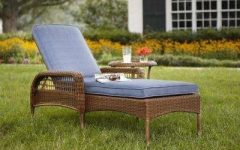 Wicker Chaise Lounge Chairs For Outdoor