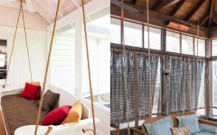 Hanging Daybed Rope Porch Swings