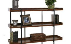 Parker Modern Etagere Bookcases