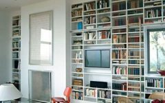 Bookcases with Tv