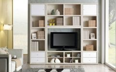 Bookshelves Tv Unit