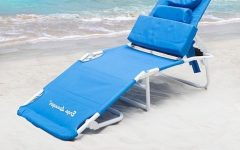 Chaise Lounge Chairs with Face Hole