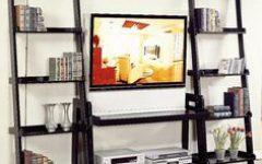 Tiva Oak Ladder Tv Stands