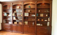 Classic Bookshelves Design