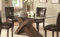 Rectangular Glasstop Dining Tables