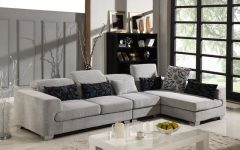 Microfiber Sectional Sofas