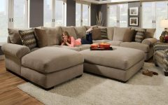 Tan Sectionals With Chaise