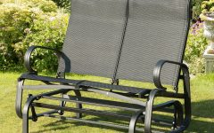 Twin Seat Glider Benches
