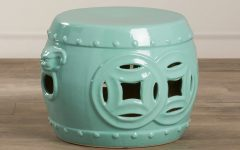 Kujawa Ceramic Garden Stools