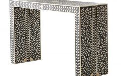 Intarsia Console Tables