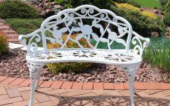 Montezuma Cast Aluminum Garden Benches