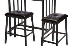 Presson 3 Piece Counter Height Dining Sets