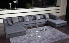 Modern U Shaped Sectionals