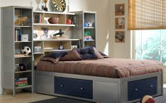 Queen Size Bookcases Headboard