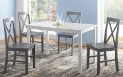 Rarick 5 Piece Solid Wood Dining Sets (set of 5)