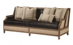 Magnolia Home Foundation Leather Sofa Chairs