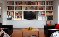 Tv Unit and Bookcases