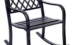 Patio Metal Rocking Chairs