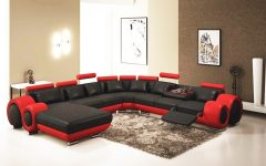 Red Sectional Sofas