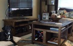 Rustic Coffee Table and Tv Stand