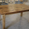 Rustic Pine Small Dining Tables
